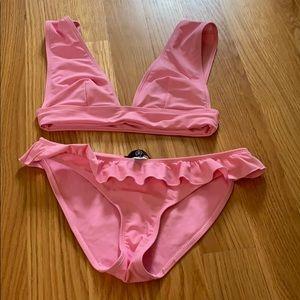 NWOT Pink Missguided Bikini !!!!!